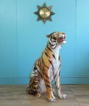 Large ceramic tiger - SOLD